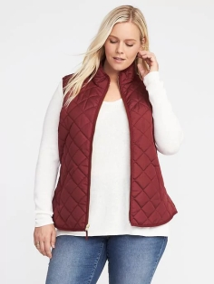 Old Navy Plus-Size Quilted Vest